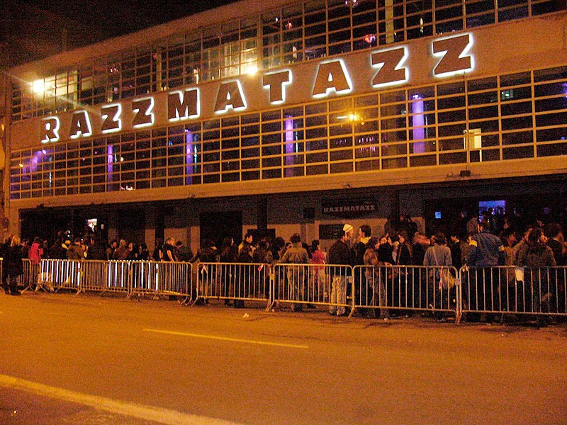 La sala Razzmatazz de Barcelona