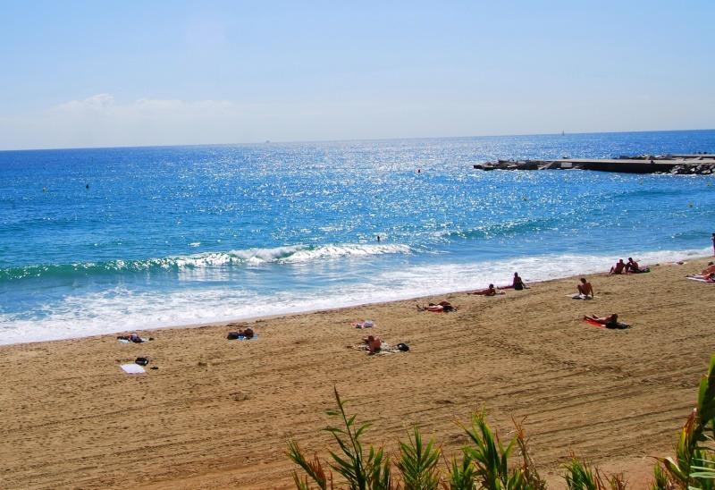 La Mar Bella, la playa nudista de Barcelona capital