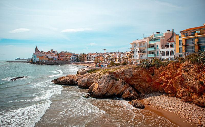 Sitges un hermoso pueblo que ver cerca de Barcelona