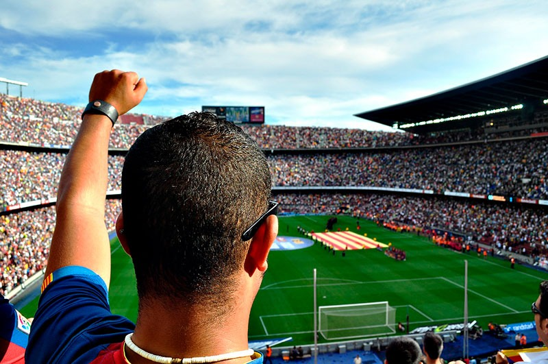 Visitar el Camp Nou e ir a ver un partido del Barça