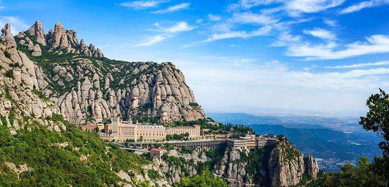 Visitar el monasterio de Montserrat